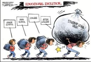 education evolution cartoon, fuente: pinterest