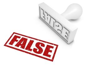 certificación falsa