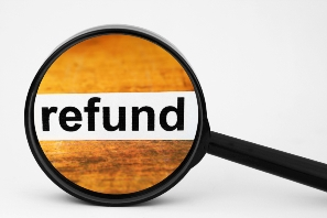 unpaid refund